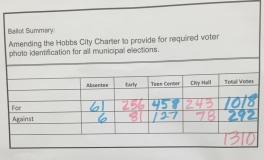 voter id ballot hobbs